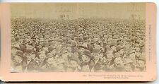 stereoview PHOTO STEREOSCOPIQUE KILBURN LITTLETON / HUMANITY COLUMBIA EXPOSITION