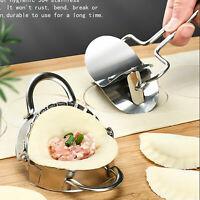 Dumpling Maker Mould Dough Presser Stainless Steel Wraper &Cutter Kitchen Tools