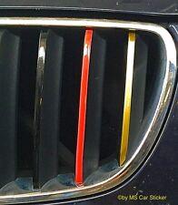 Deutschland Germany Zier Streifen Sticker Set Aufkleber BMW Niere Kühler Grill