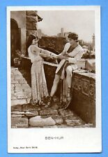 "KATHLEEN KAY & RAMON NOVARRO # 73/6 ""BEN HUR""VINTAGE PH.PC.PUBLISHER GERMANY 477"