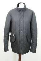 BARBOUR Black Quilted Jacket size M