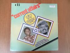 Chief Commander Ebenezer Obey - Current Affairs Vinyl LP Oti 1980 Rare