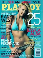 Playboy March 2006 ~ JESSICA ALBA COVER ~ BRAND NEW! FACTORY SEALED!!