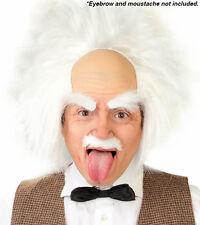 blanco con pelo profesor Gorro BASE DE PELUCAS Genius Inventor científico Doctor