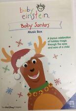 Baby Einstein : Bébé Santa's Musique Boîte (DVD,2004) Tested-Rare Vintage-Ships