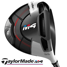 """NEW 2018"" TAYLORMADE M4 9.5 DEGREE DRIVER +STIFF FUJIKURA ATMOS SHAFT"
