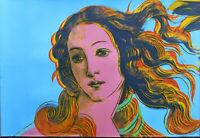 Andy Warhol Birth of Venus Offset Lithograph 24 x 36