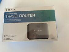 Belkin Wireless Dual-Band Travel Router F9K1107