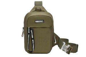 Nike F.C. Shoulder Bag CU8098 222 Green/Black 5 L Sports Holiday