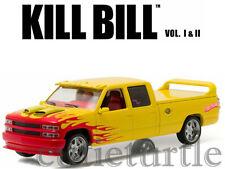 Greenlight 1997 Chevy Silverado SS Custom Cab Kill Bill Pussy Wagon 1:43 Yellow