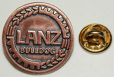 Lanz Bulldog Emblem Kupfer Traktor Schlepper l Anstecker l Abzeichen l Pin 06