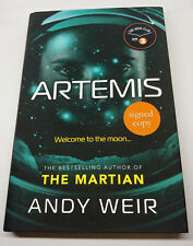 Artemis - Andy Weir (signed 1st edition)