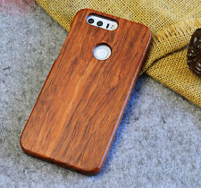 New 100% Natural Wooden Wood Bamboo Phone Case Cover for Huawei P10 P9 Mate 9