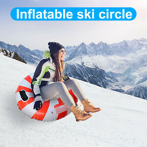 The Winter Heavy Snow Tube Provides Inflatable Sleds For Children And Adult