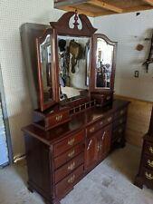 New ListingQueen bedroom set furniture dresser bed night stand hutch Sumter