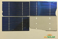 750g Almost Whole 3x6 Solar Cells for DIY Solar Panel DIY Battery Charger