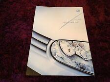 VW Golf Mk4 Brochure 2003 inc GTi, V5 & V6 4Motion