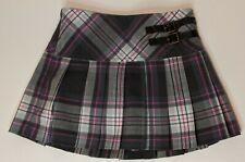 Cherokee Girl's Plaid Skirt ~ XS (4/5) ~ Lined ~ Waist Adjusters
