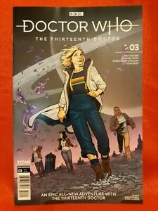 Doctor Who 13TH Doctor #3- Cover A, Rebekah Isaacs, VF/NM 2020