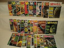 Famous Monsters of Filmland 31-68 (miss.6bks) MAGAZINE SET Warren Comics (m 448)
