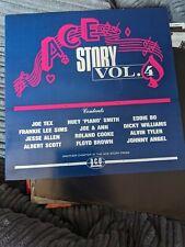 New listing RARE VINYL MINT LP ACE STORY VOL 4 CH 98 JOE TEX x 3 FLOYD BROWN EDDIE BO 1984