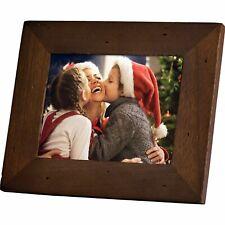 "NEW Polaroid 8"" Digital Picture Frame Candlenut Distressed Wood PDF-800CD"