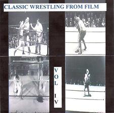 Classic Wrestling IV DVD Strangler Lewis Dick Shikat Rocca Perez Grahams Bruiser