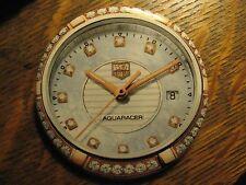 Tag Heuer Aquaracer Swiss Diamond Watch Advertisement Pocket Lipstick Mirror