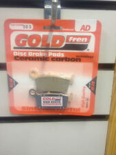 HONDA CR 500 CR500  1995-2002 GOLD FREN REAR BRAKE PADS