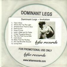 (CI694) Dominant Legs, Invitation - DJ CD