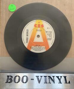 "Third World-Ride on.7"" promo Vinyl Record Ex Con"