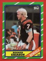 1986 Topps #255 Boomer Esiason Rookie NEAR MINT/MINT Cincinnati Bengals FREE S/H