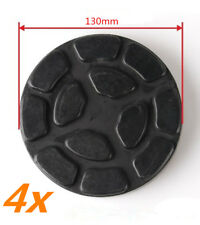 4x 130mm Heavy Duty Lifting Arm Rubber Pad Jack Pad Car Post Lift Disc Universal