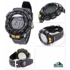 Casio PRO TREK Men's Watch PRG-240-1ER Ultimate Outdoor Altimeter, Compass Solar