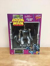 Toy Biz Marvel Iron Man Argent Silver Dragon Figure, Brand New Sealed, 1995!