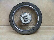 Honda 350 CL SCRAMBLER CL350-K1 Used Rear Wheel Rim 1969 #HB49 Vintage HW165