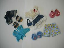 Build-A-Bear Clothing, Lot of 9 items, Pants, Shirts, Shoes, Skirt, and Purse