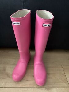 Womans Hunter Wellies Size 7