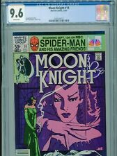 1981 MARVEL MOON KNIGHT #14 1ST APP STAINED GLASS SCARLET CGC 9.6 UPC NEWSSTAND