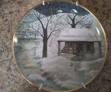 "Moonlight Visitors Franklin Mint Heirloom 8 1/4"" Carol Endres Plate"