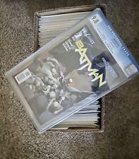 BATMAN New 52 #1 CGC 9.8 COMPLETE Comic Lot of 126 Books! 60 VARIANTS 1st Prints