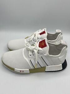 Adidas Originals NMD R1 Mens Running Shoes White Black Gold ''Tokyo'' FY1159 NEW