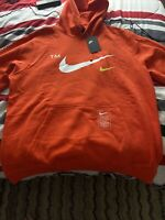 Nike NSW Club Microbranding Pullover Hoodie Sz 2XL 100% Authentic BV3063 -891