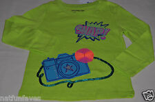 baby Gap toddler girl snap camera tee shirt size 2 2T NWT top long sleeve