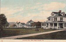 Postcard Monterey Ave Blue Ridge Summit Pa