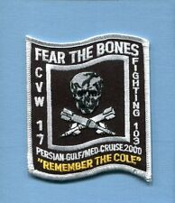 VF-103 JOLLY ROGERS FEAR BONES US NAVY GRUMMAN F-14 TOMCAT Squadron Cruise Patch