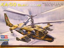 Hobbyboss 1:72 Kamov Ka-50 Black Shark Helicopter Model Kit