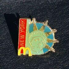McDonald's Pin Badge USA NEW YORK