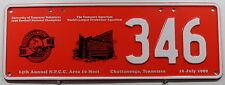 Nummernschild Australien N.P.C.C Treffensschild Chattanooga Tennessee 1999.9904.