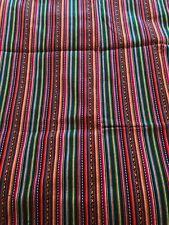peruvian brown manto cusco fabric 1m x 1.2m